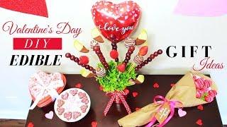 VALENTINE'S DAY DIY EDIBLE GIFT IDEAS | DIY EDIBLE ARRANGEMENTS
