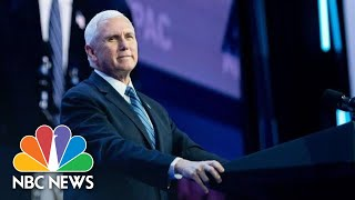 Mike Pence Gives Update On Coronavirus Threat | NBC News (Live Stream Recording)