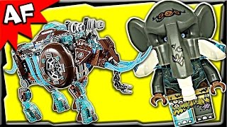 Lego Chima Maula's MAMMOTH STOMPER 70145 Stop Motion Build Review