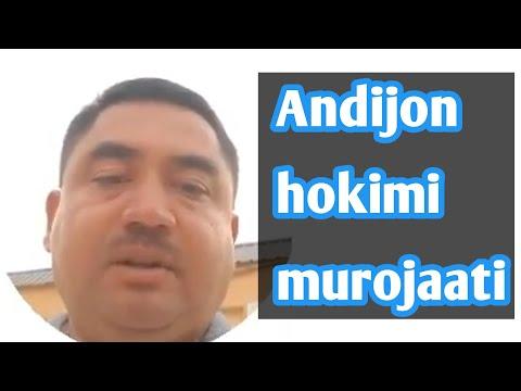 Андижон хокими • Andijon hokimi