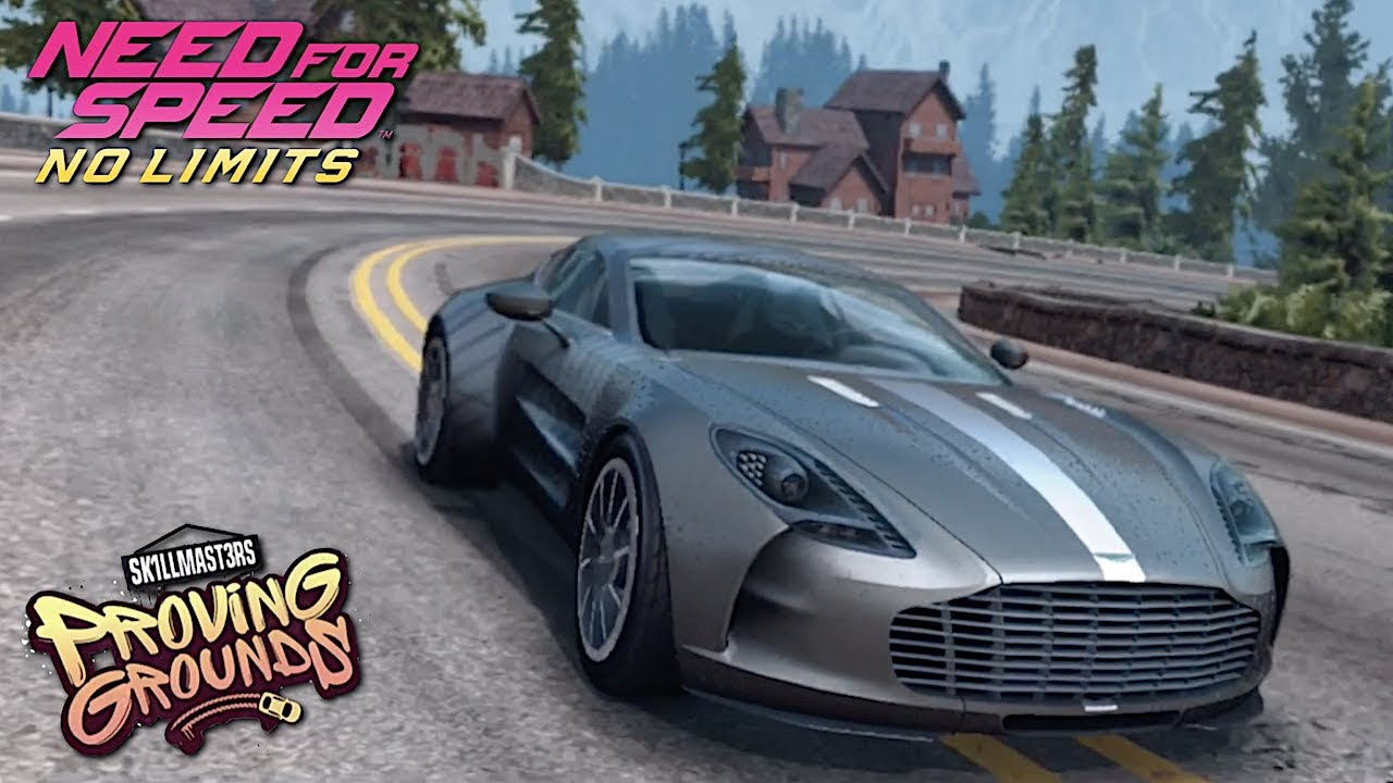 Need For Speed No Limits Proving Grounds Aston Martin One 77 Youtube