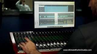 live in the studio w the toft atb console