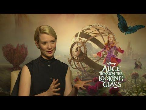 Through the Looking Glass: Mia Wasikowska had imaginary pets!