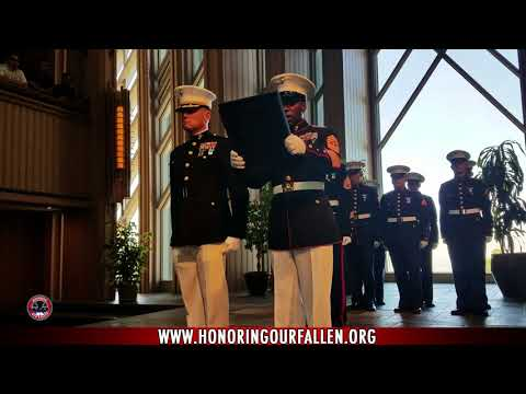 Funeral and Honors for LCpl Ruben Velasco