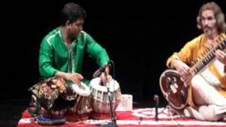 Tabla and Sitar - Ravi S.K. Singh and Uwe Neumann.avi