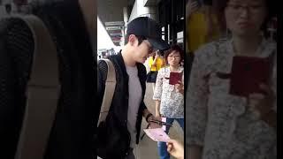 Park Sihoo   Atami Film Festival Gimpo Airport 27 Jun 2018