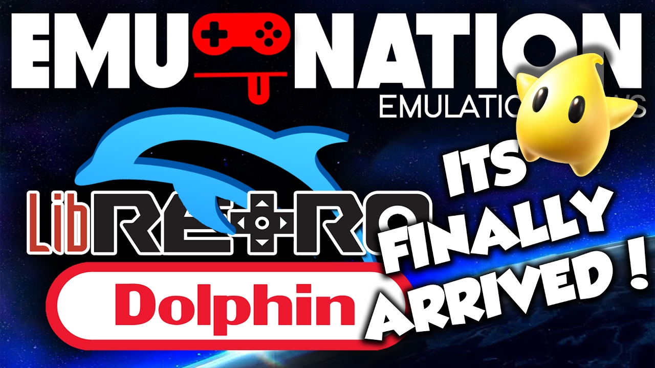 EMU-NATION: RetroArch gets a Dolphin Core and MUCH MORE