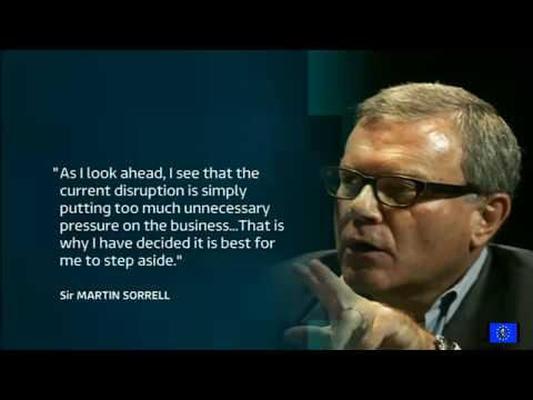 Martin Sorrell resigns from WPP amid personal misconduct allegations