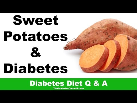 Are Sweet Potatoes Good For Diabetes