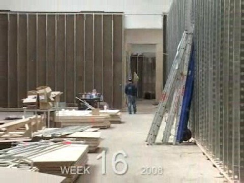 Verbouwing Stedelijk Museum Amsterdam - week 16