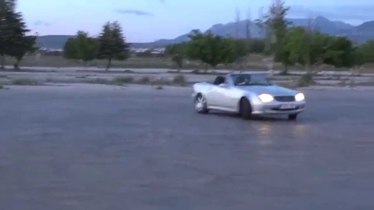 Drifting cars FULL HD | Mercedes Benz SLK R170 | 230 Kompressor 1080p ...