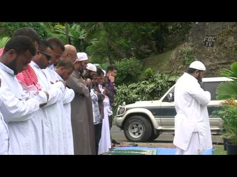 Eid prayer in Fiji Part 1