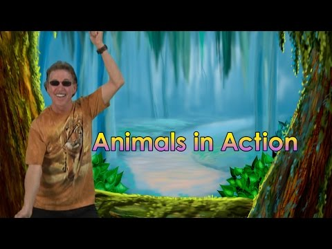 BRAIN BREAKS | Brain Breaks Song | Animals In Action 1 | Jack Hartmann