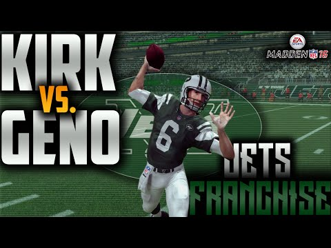 Kirk vs. Geno Preseason Headlines | Jets Franchise (Madden 16)