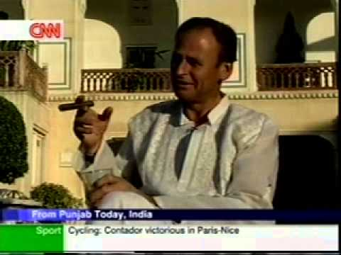 """CNN World Report """" The Raj Palace Jaipur is one of the most luxurious destinations of the world"""""""