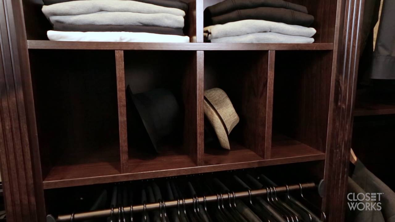 Mens Walkin Closet - YouTube