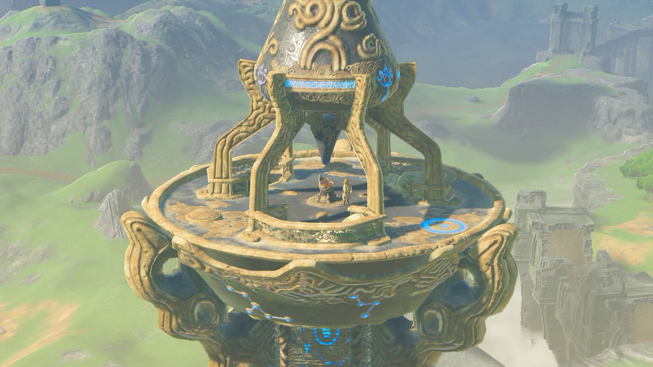 Zelda Breath Of The Wild Mi Primera Torre Youtube