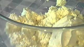 Видео рецепт: творог с зеленью