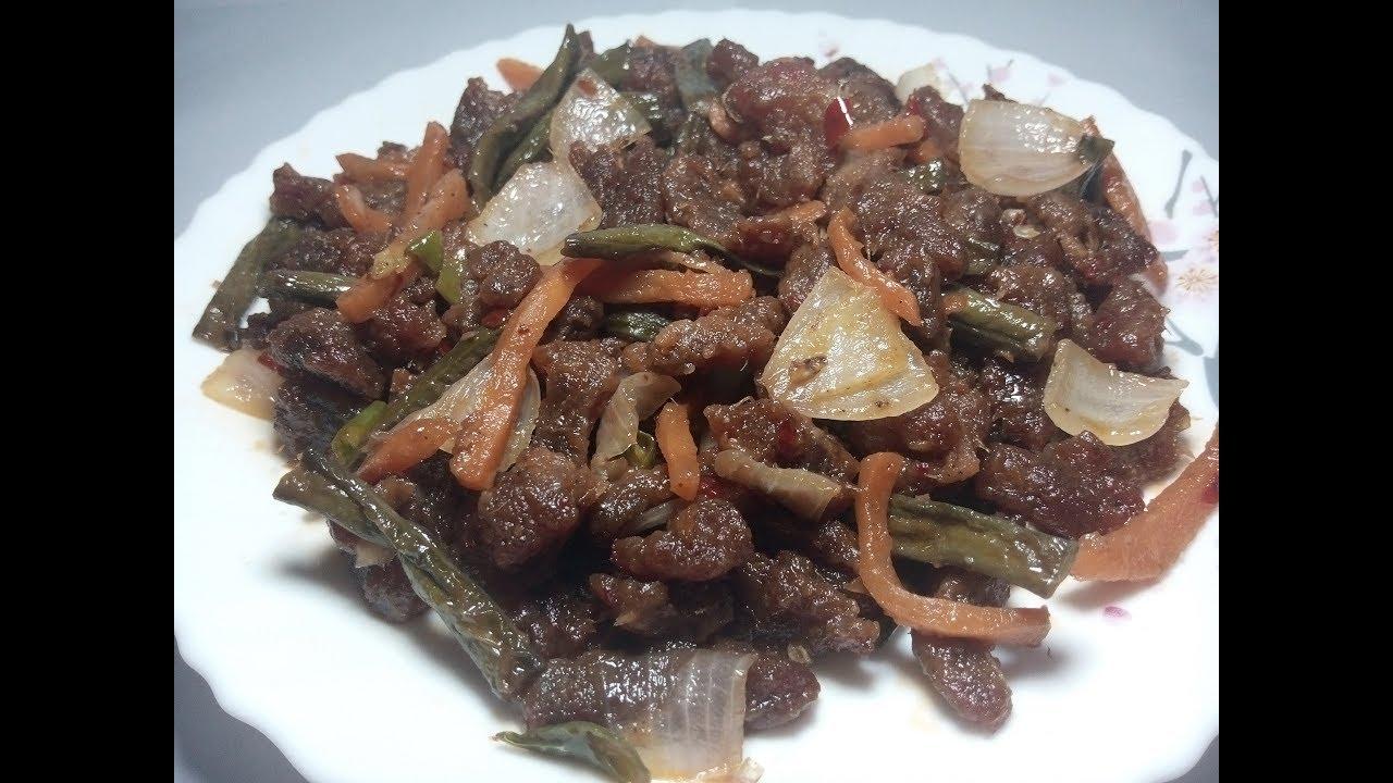 বীফ মোঞ্চুরিয়ান। Beef Manchurian। Chinese Beef Manchurian ...