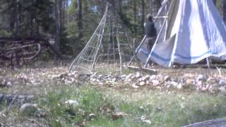 2013 may tipi work at stone soup in harpswell maine.