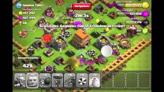 002# Clash of Clans tactics 210k/140k /// Dragon Ballon combo try