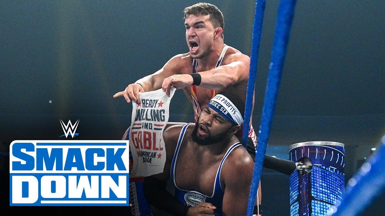 The Street Profits vs. Otis & Chad Gable: SmackDown, Aug. 13, 2021