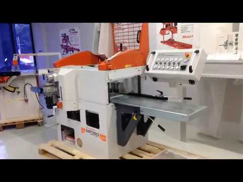 Wood-Mizer MP360 moulder, a closer look