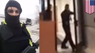 Open carry fail: Armed gun nuts in body armor arrested at Michigan police station - TomoNews
