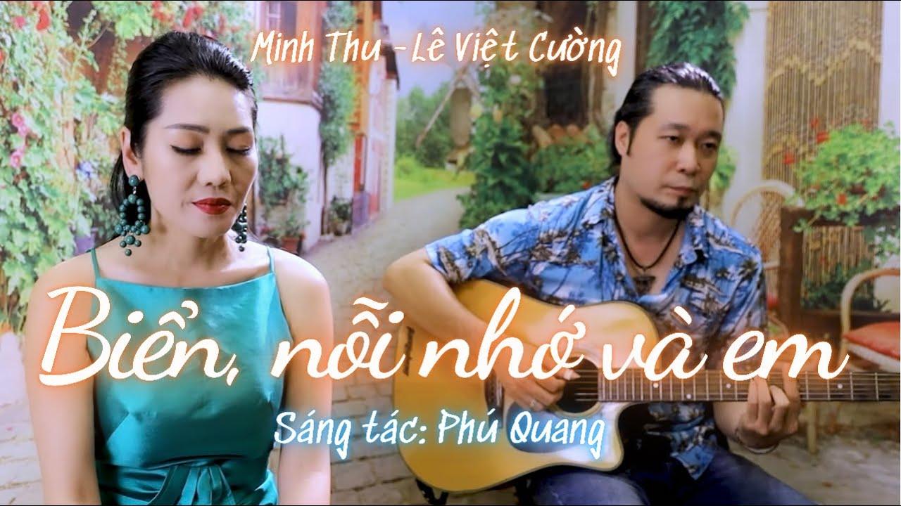 BIỂN NỖI NHỚ VÀ EM | Minh Thu hát live | Nhạc sĩ Phú Quang |Thơ Hữu Thỉnh