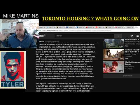 TORONTO (GTA)  HOUSING MARKET !  -  WHAT A POOP SHOW