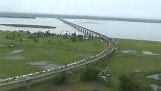 This is how India's longest 'Dhola-Sadia' bridge looks like from the top