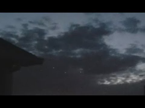 Fritz Blog (57563) - Armada of UFO's Filmed over Wyoming