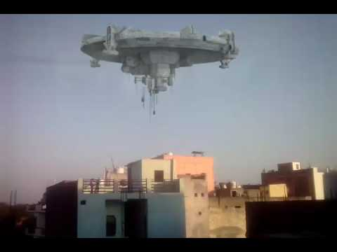 this is a real UFO in Aya Nagar New Delhi 1100 47