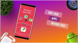 Notepad Vault | Hide apps from application manager without root in hindi/urdu by Os Tips And Tricks screenshot 2