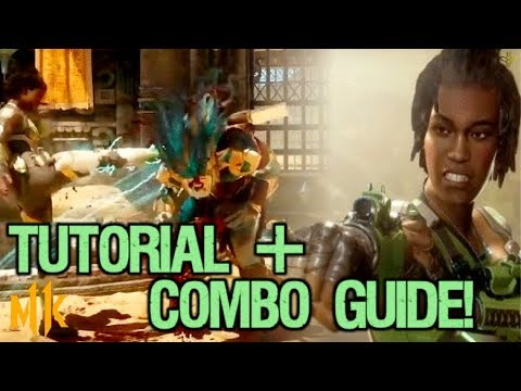 Jacqui Briggs Mortal Kombat 11 Beginner Character Guide and Combo Tutorial! [1st Round KO Variation]