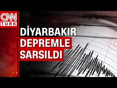 Diyarbakır Ergani'de 4 büyüklüğünde deprem meydana geldi