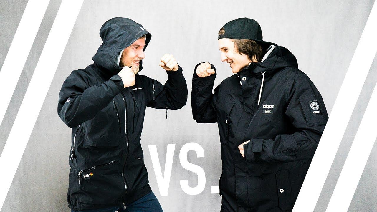 best website cdc8a 3d9f0 // 500€ Peak Performance Ski-Jacke VS. 200€ DOPE Jacket // Hochwertig vs.  Günstig?! - Teil 1