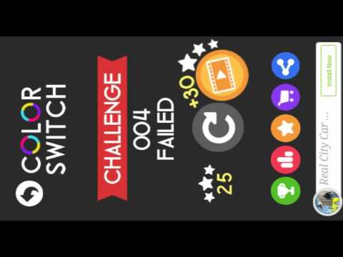 Color Switch Gameplay #2 | Challenges | Veiola Plays