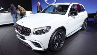 2018 Mercedes AMG GLC63 video preview