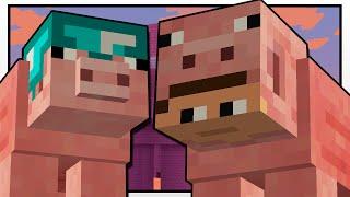 - Minecraft THE MYSTERIOUS PIG MAN Custom Mod Adventure
