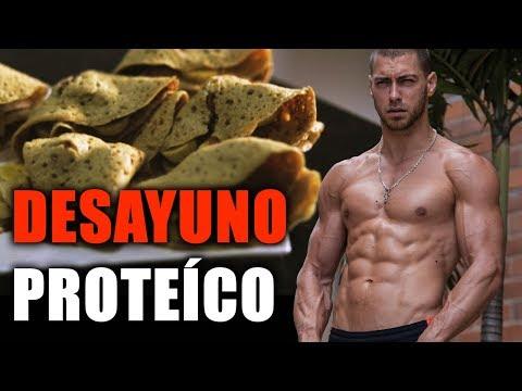 Mejor Desayuno Para Dieta Proteica (Crepes de Avena)