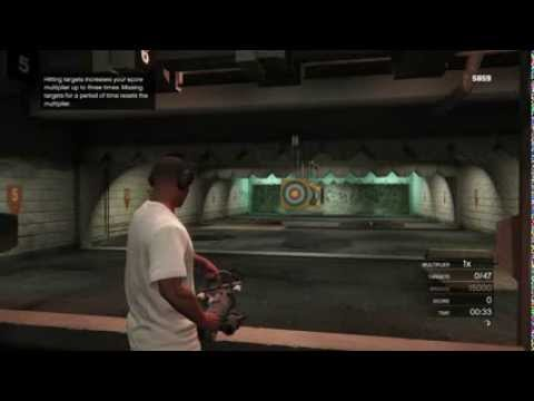 Let's Play Grand Theft Auto V - Part 32: Shooting Range