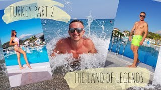 Turkey PART 2. The Land of Legends. Hotel Club Marco Polo. Турция 2019, медовый месяц