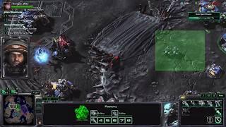 Starcraft II finale endings Protoss and Zerg United.