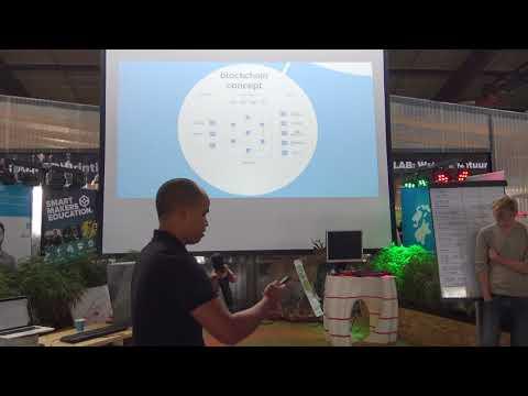 Pitch - Smart Water Blockchain   Makathon Smart Solutions voor de Watersector 2017