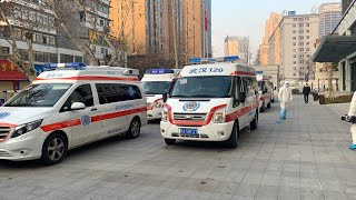 Live: Coronavirus patients transferred to Huoshenshan Hospital