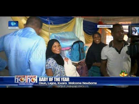 Lagos, Osun, Kwara Welcome First Babies Of The Year Pt.2 01/01/19 |News@10|