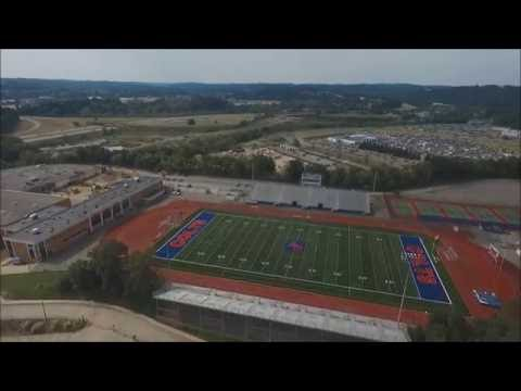 Aerial Tour of Chartiers Valley High School