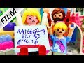 Playmobil Film Deutsch BLAUER BRIEF FÜR HANNAH! 1. VERWEIS AN DER NEUEN SCHULE! Familie Vogel