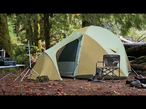 & Cabelau0027s West Wind™ Dome Tent | Camp Cabelau0027s - YouTube